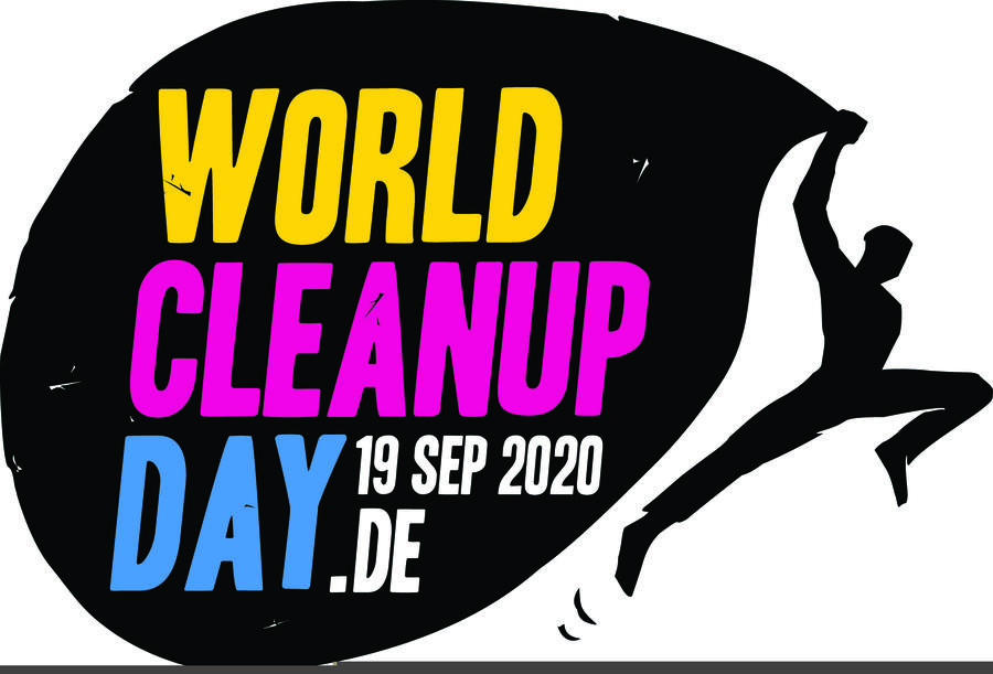 Logo World Cleanup Day 19. September 2020